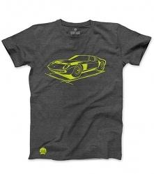Szary T-shirt Lamborghini M...