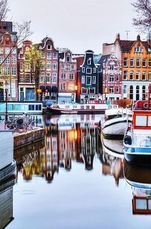 Kolorowy Amsterdam, zaprasz...