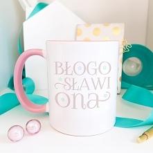Błogosławiona - różowy kubek