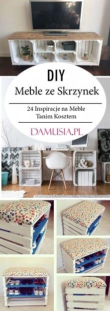 Meble ze Skrzynek – TOP 24 ...