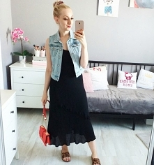 Sukienka plus jeans od iza1...