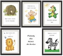 plakaty motywacyjne dla dzieci do druku