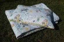 Zestaw do łóżeczka w zeszytowe rysunki  • #szyciedladzieci #szycie  #handmade...