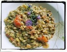 Kasza z nasionami strączkowymi (danie z Lukki) - Farro-Bean Soup From Lucca R...
