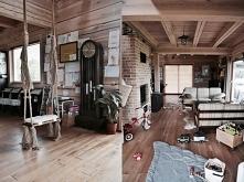 Żaluzje bambusowe w kolorze GRAHAM w pięknym drewnianym domu Julii Rozumek   ...