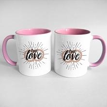 Zestaw kubków - true love