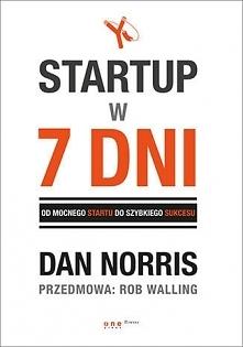 """Książka """"Startup w 7 d..."""