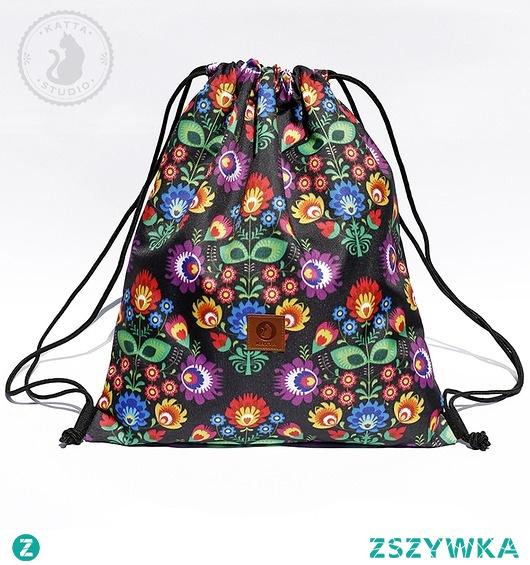 Plecak-worek Łowicz czarny
