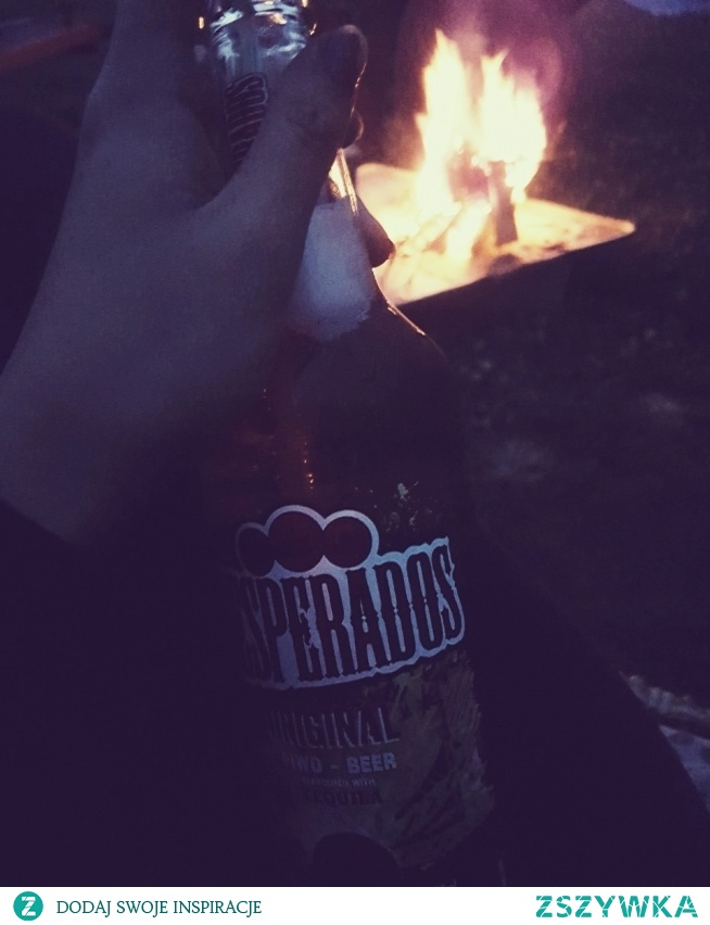 #campfire #desperados #greatevening