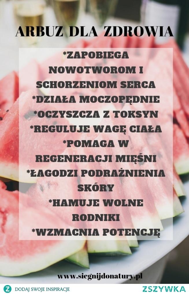 Arbuz nie tylko smaczny! wiecej na  siegnijdonatury.pl