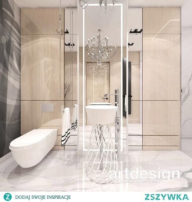 Nowoczesna łazienka - inspiracje w projektowaniu wnętrz | IN HIGH SPIRITS | Wnętrza apartamentu