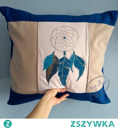 Jak uszyć panelową poduszkę/poszewkę dekoracyjną z zapięciem na zamek?  Odpowiedź znajdziesz po KLIKnięciu w zdjęcie oraz na blogu DIY Adzik-tworzy.pl