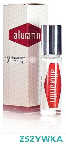 Alluramin to feromony dla mężczyzn. Ich całkowicie bezpieczne i skuteczne działanie, jest możliwe dzięki naturalnemu pochodzeniu substancji wchodzących w skład tego produktu.  Rozpyla się go tak jak perfumy lub wodę kolońską – na nadgarstkach, szyi bądź ubraniu. Feromony wpływają pozytywnie na pociąg seksualny kobiet do mężczyzn, pobudzają pożądanie i sprawiają, że atrakcyjność mężczyzny skropionego Alluramin znacznie wzrasta.