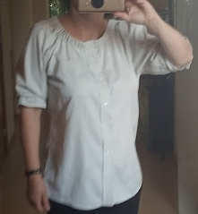 bluzka hiszpanka ze starej ...