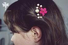 Witajcie >!< Ostatnio zrobiłam wsuwki z perełkami. Nie uwierzycie jak łatwo można wykonać taką piękną ozdobę do włosów ! <3