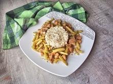 Pyszny i zdrowy obiad - kurczak z fasolką szparagową w sezamie