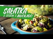 Sałatka z sosem z awokado -...