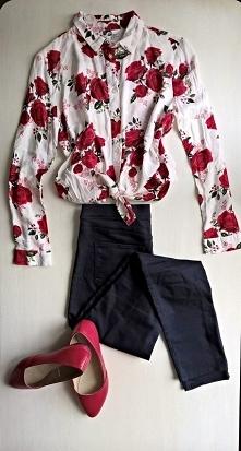 Koszula w kwiaty od Emilly7...