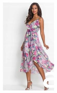 Piękna, zwiewna sukienka