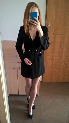 Sukienka marynarka od Emill...
