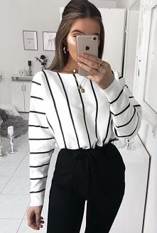 Modna bluzeczka w paski
