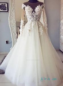 Seksowna tiulowa iluzja # suknia balowa # suknia ślubna