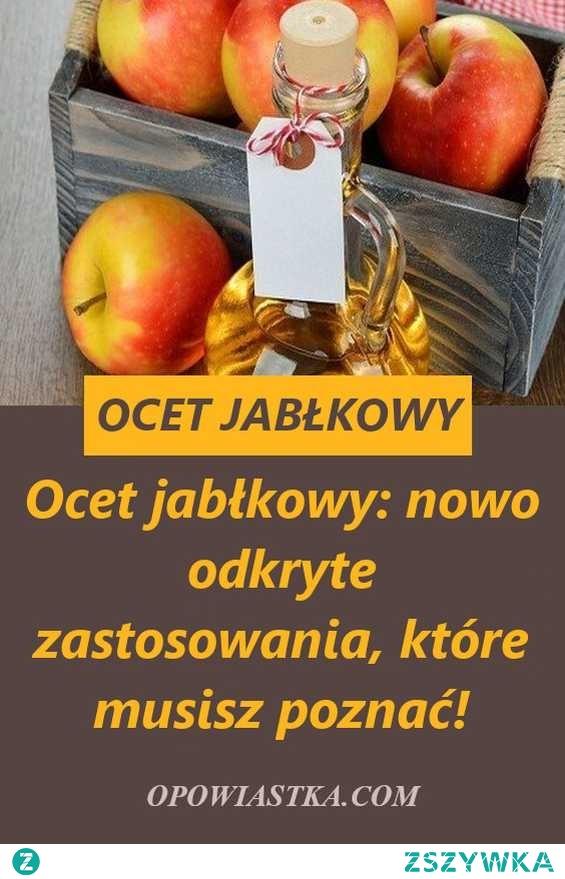Ocet jabłkowy: nowo odkryte zastosowania, które musisz poznać