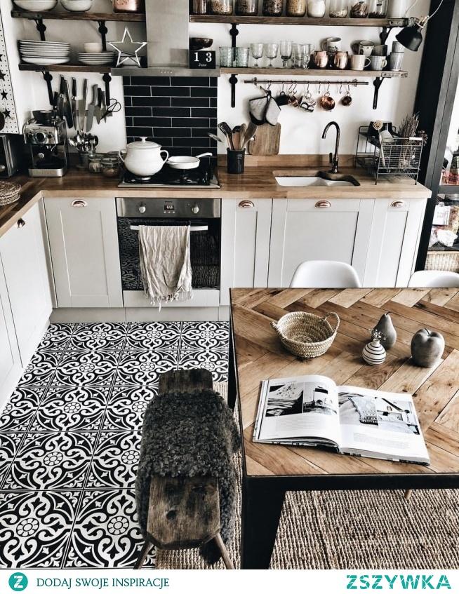 Kuchnia, kitchen, floor