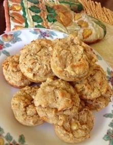 Bananowe muffiny proteinowe.