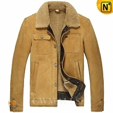 Men Sheepskin Jacket | Clas...