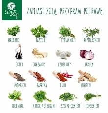 Zamiast solą, przypraw potrawę
