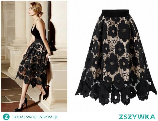 wieczorowa spódnica alternatywą dla eleganckiej sukienki! kliknij w zdjęcie i sprawdź gdzie ją kupić :)