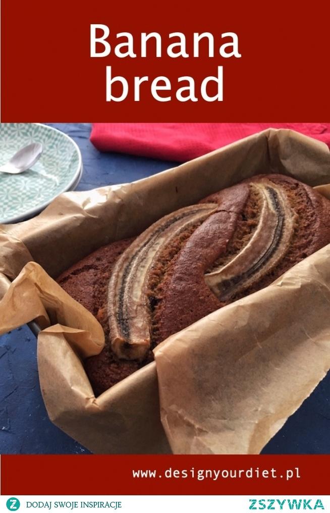 Szybkie, pyszne, a na dokładkę banalnie prosty przepis na chlebek bananowy. Link znajdziesz w komentarzu.