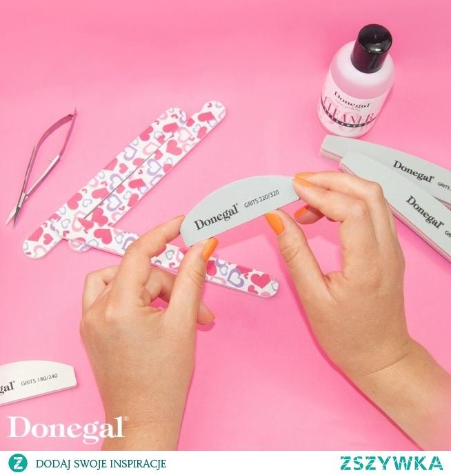 Mini polerka do paznokci o gradacji 220/320.  Manicure by Donegal