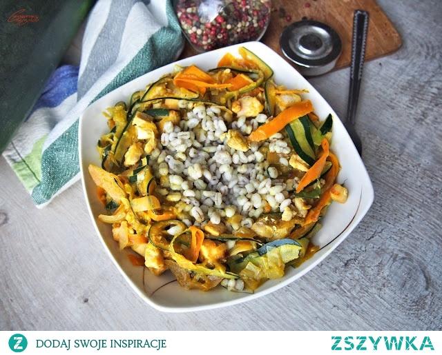Curry z cukinii