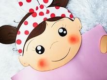 Dziewczynka - dekoracja z p...