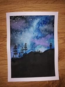 Jeden z pierwszych moich obrazów. Co myślicie?