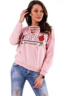 hit bluza róż nspir róża wi...
