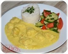 Kurczak w sosie curry - łat...