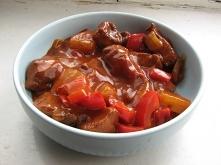 kurczak w sosie słodko kwaśnym