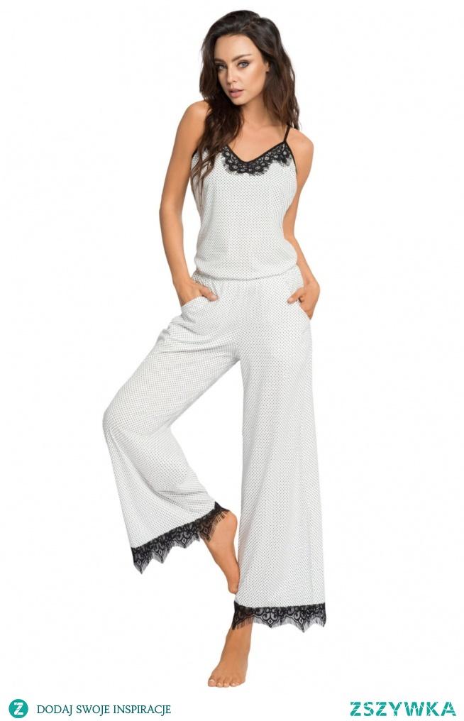 Stylowa, oryginalna, bawełniana piżamka