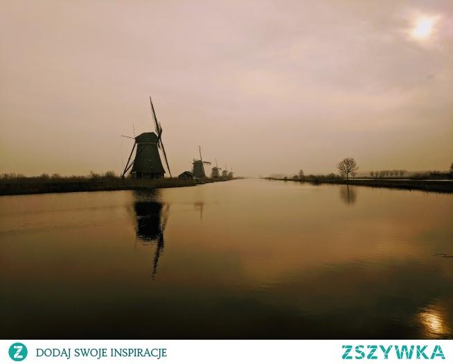 Kinderdijk - Holandia