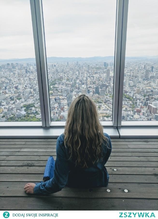 Widok z Harukas 300, Osaka - Japonia