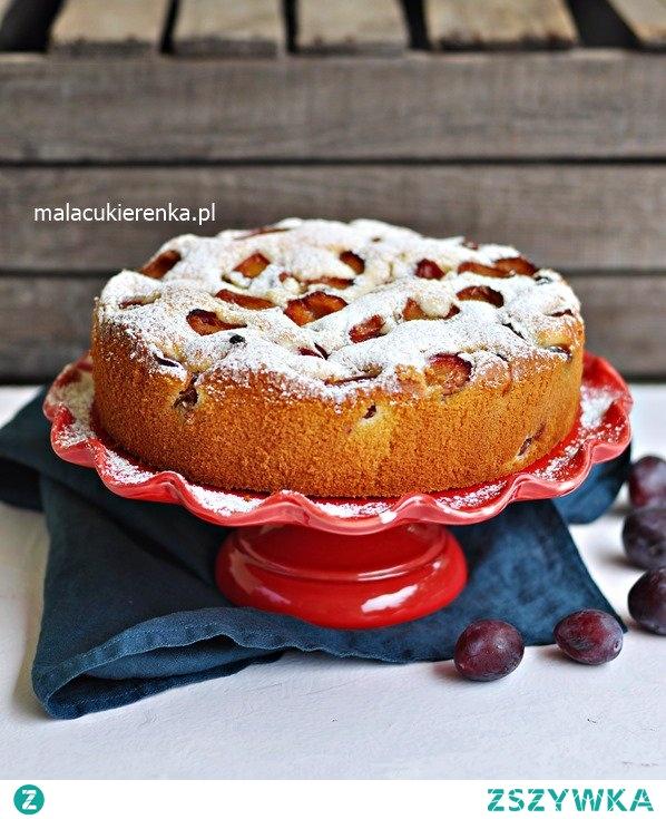 Szybkie PUSZYSTE Ciasto ze ŚLIWKAMI. Przepis po kliknięciu w zdjęcie.
