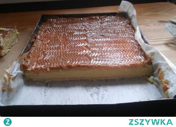 ciasto Budyniowiec które piekła moja córka