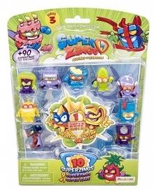 Super Zings 3 zabawki w zab...