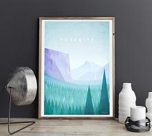 Yosemite - vintage plakat 5...