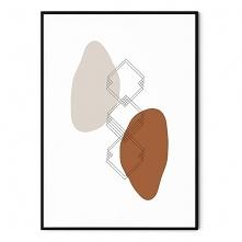 Plakat abstrakcyjny Astrono...