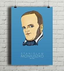 Stanisław Moniuszko - plakat