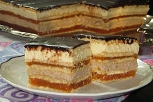 Ciasto przekładane bez piec...